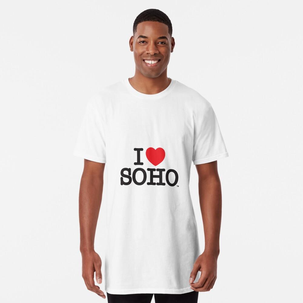 I Love Soho Official Merchandise @ilovesoholondon Long T-Shirt