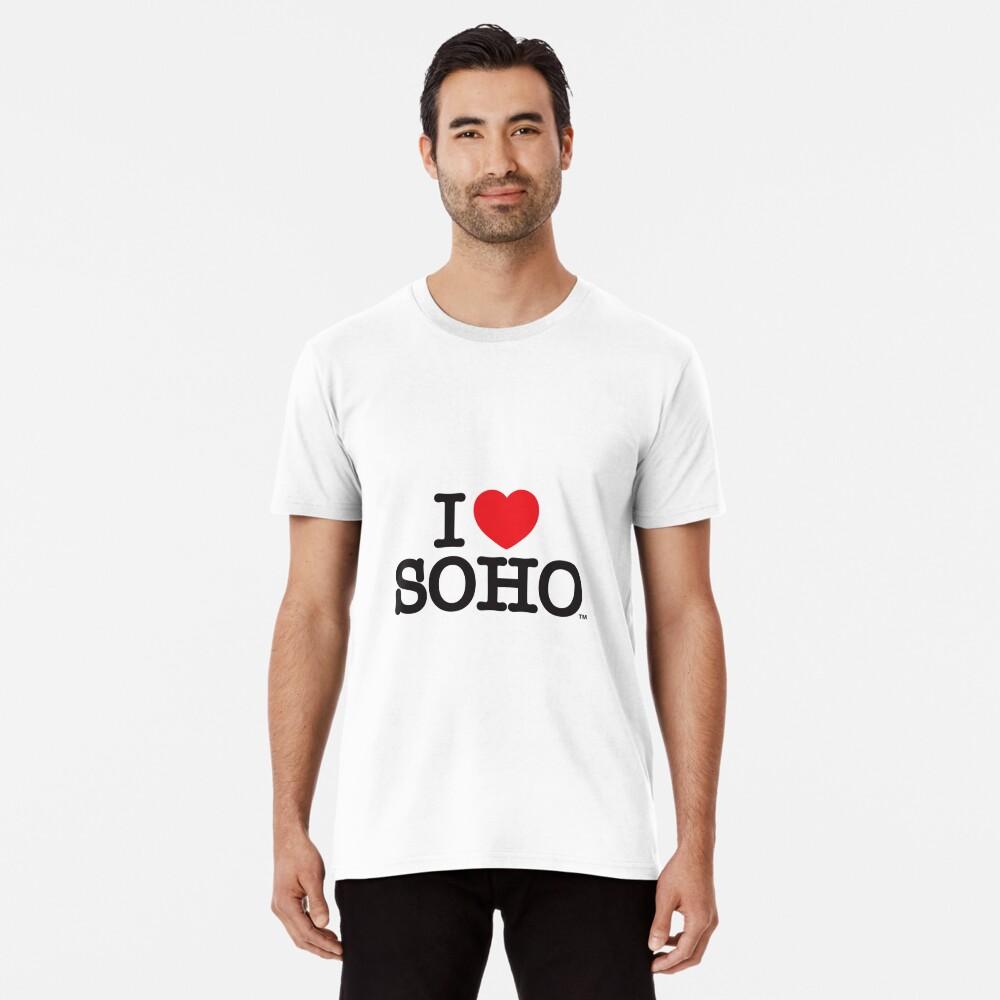 I Love Soho Official Merchandise @ilovesoholondon Premium T-Shirt