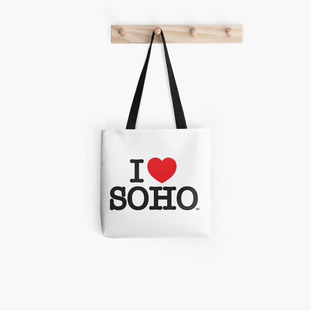 I Love Soho Official Merchandise @ilovesoholondon Tote Bag