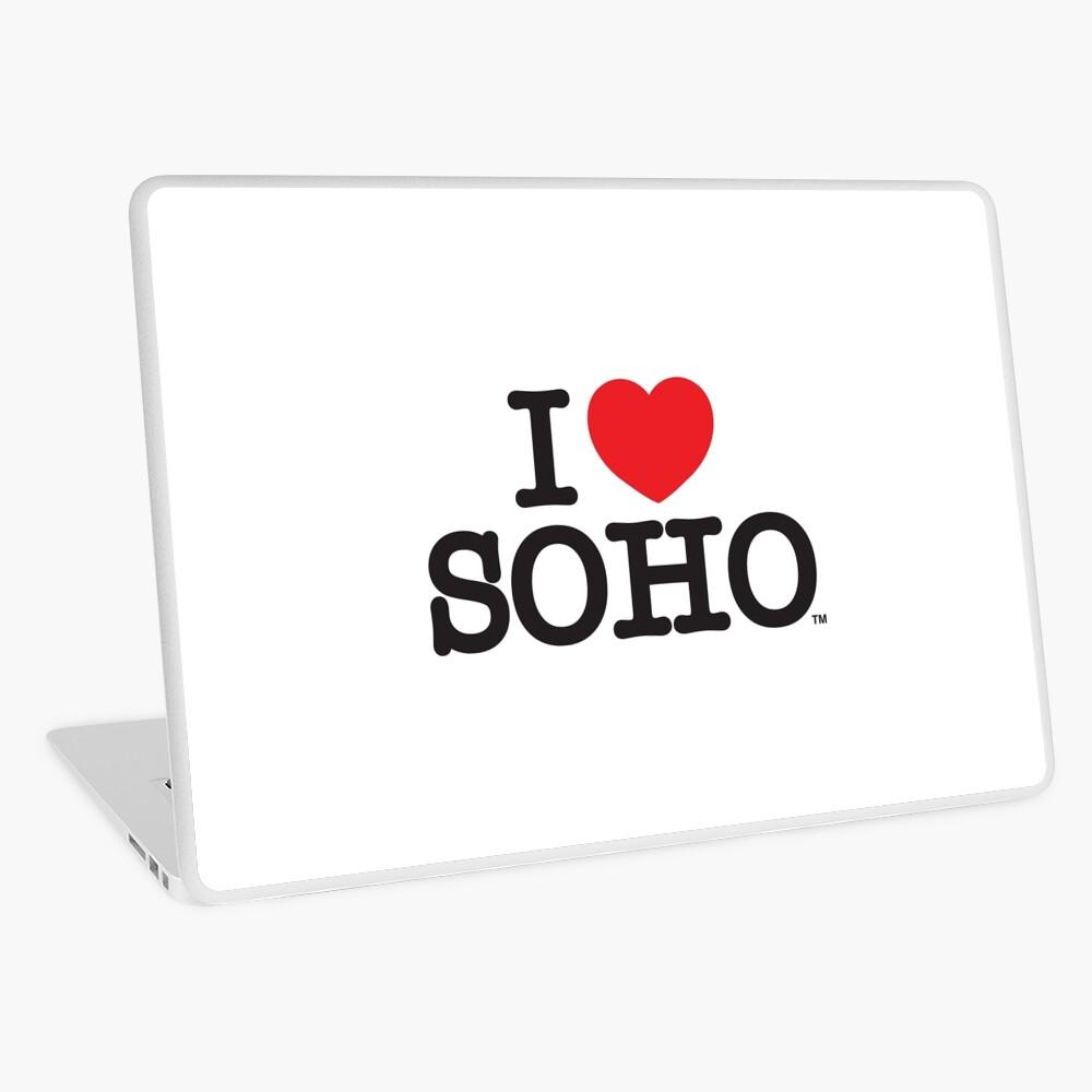 I Love Soho Official Merchandise @ilovesoholondon Laptop Skin