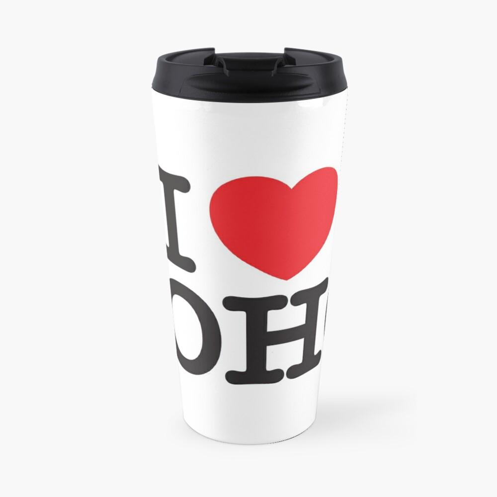 I Love Soho Official Merchandise @ilovesoholondon Travel Mug