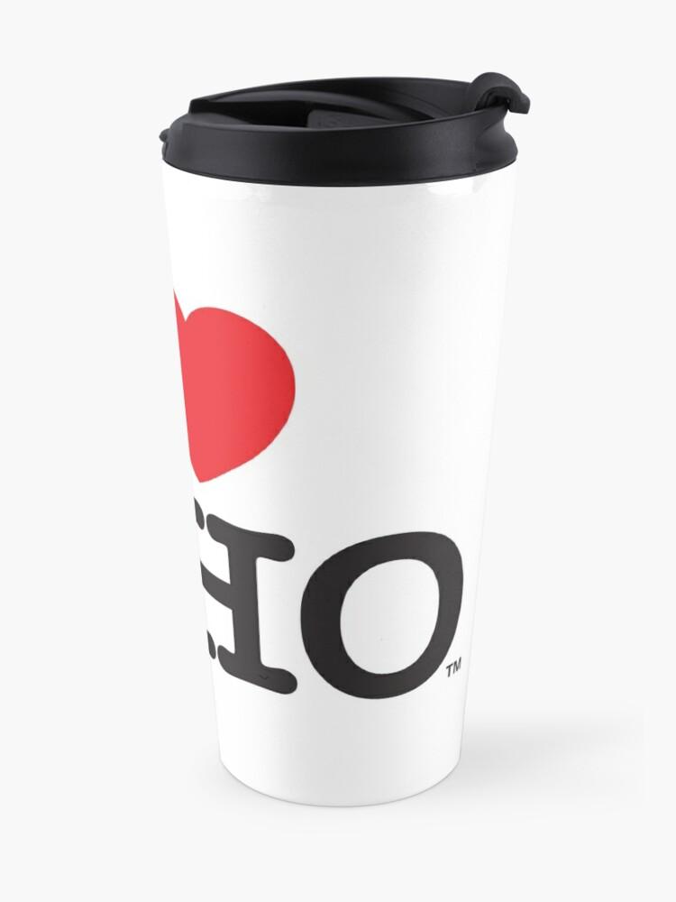 Alternate view of I Love Soho Official Merchandise @ilovesoholondon Travel Mug
