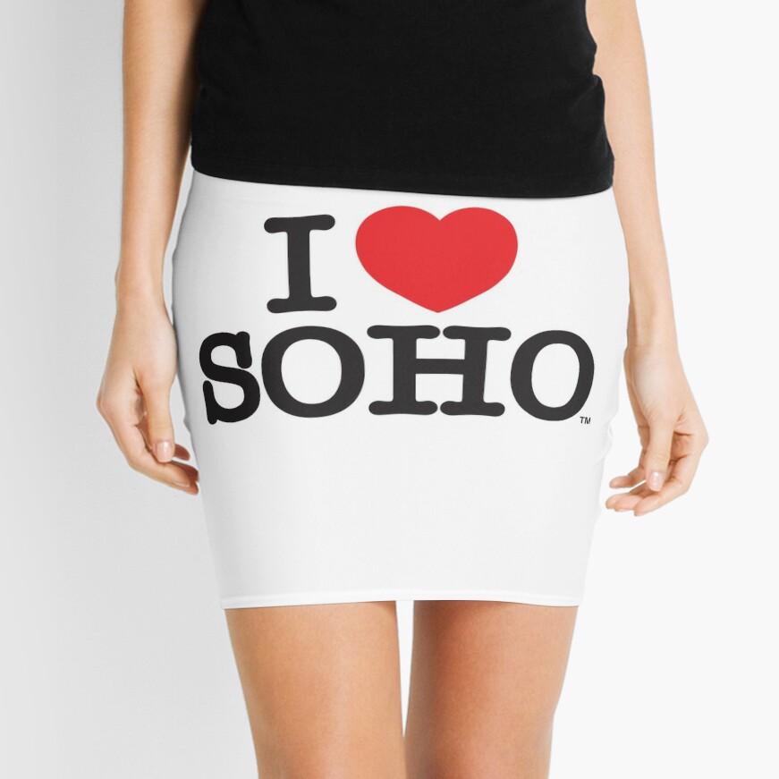 I Love Soho Official Merchandise @ilovesoholondon Mini Skirt