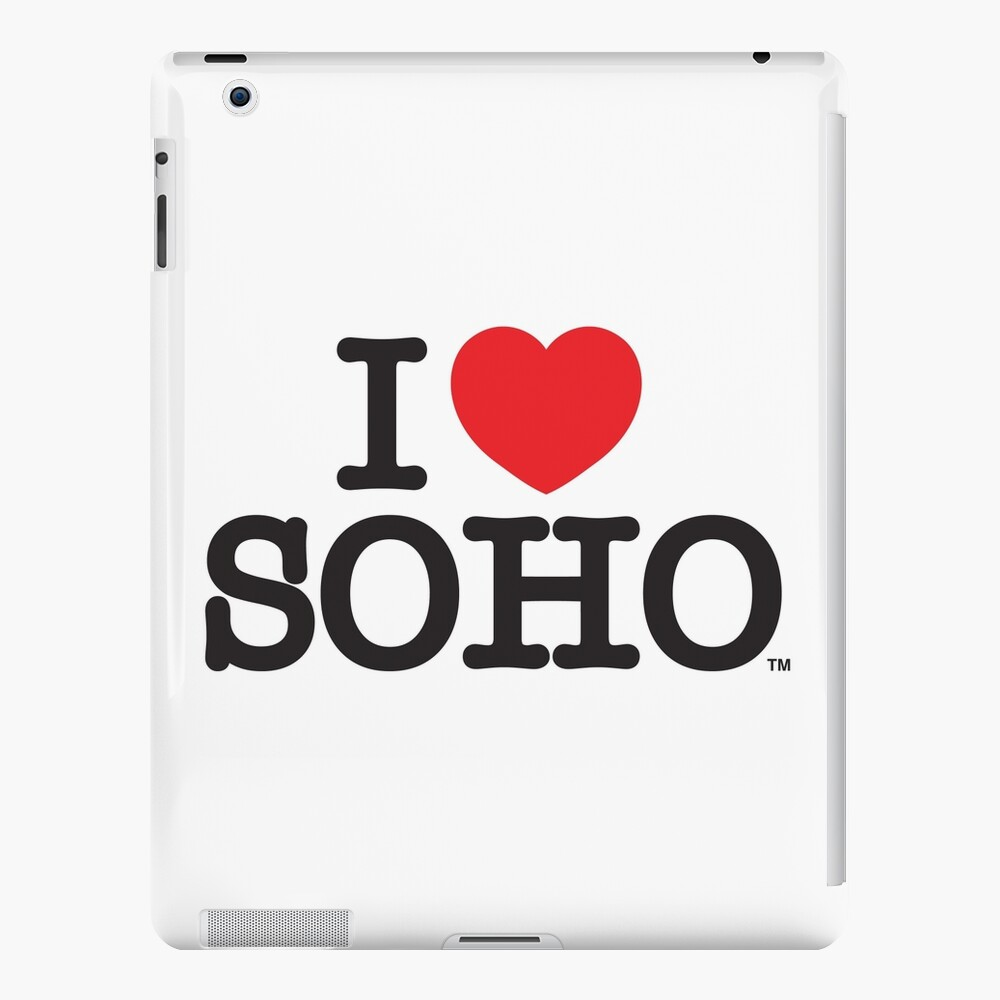 I Love Soho Official Merchandise @ilovesoholondon iPad Case & Skin