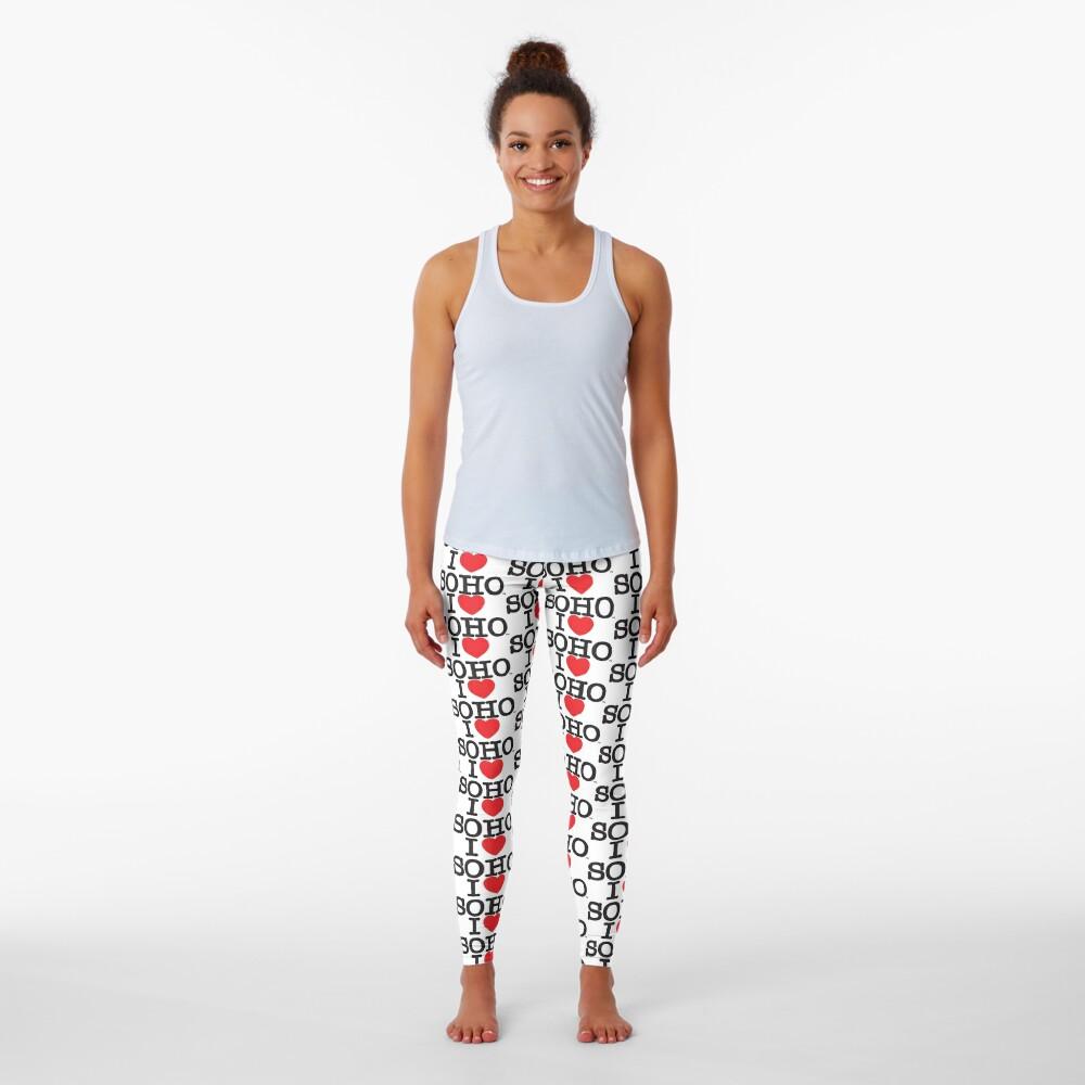 I Love Soho Official Merchandise @ilovesoholondon Leggings
