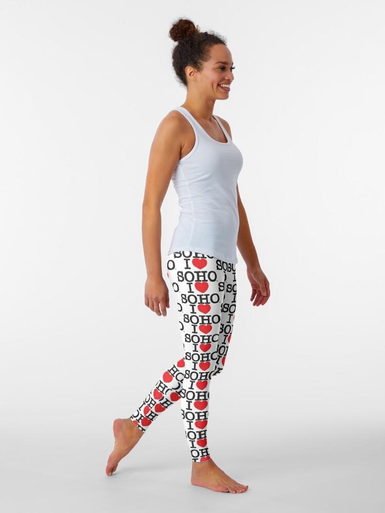 Alternate view of I Love Soho Official Merchandise @ilovesoholondon Leggings