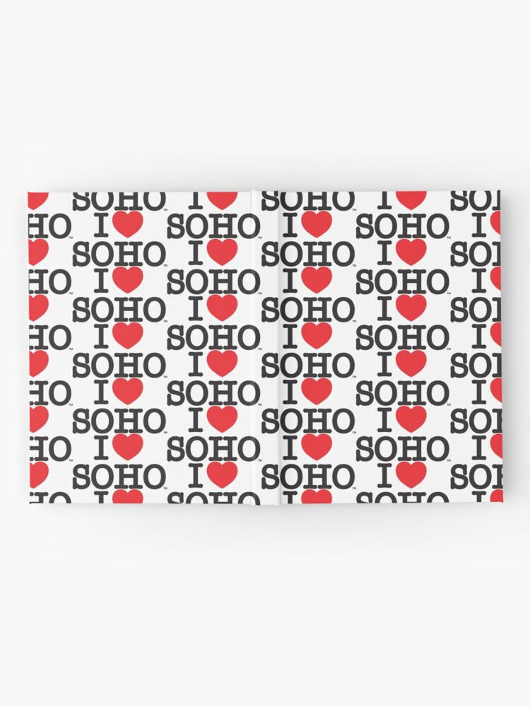 Alternate view of I Love Soho Official Merchandise @ilovesoholondon Hardcover Journal