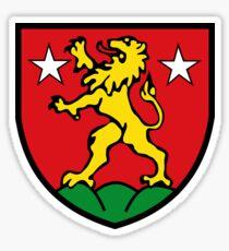 Zermatt Coat of Arms, Switzerland Sticker