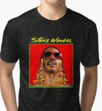 Legend Of Stevie Wonder Tri-blend T-Shirt