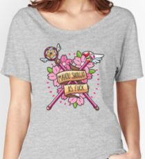 Mahou Shoujo AF Women's Relaxed Fit T-Shirt