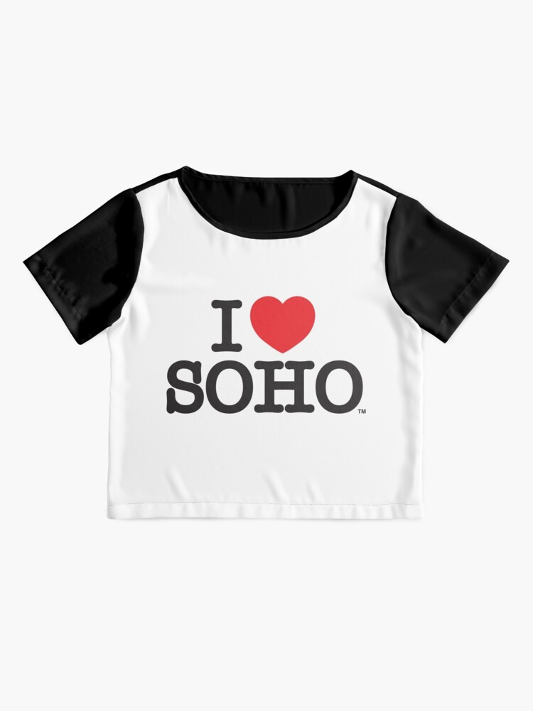 Alternate view of I Love Soho Official Merchandise @ilovesoholondon Chiffon Top