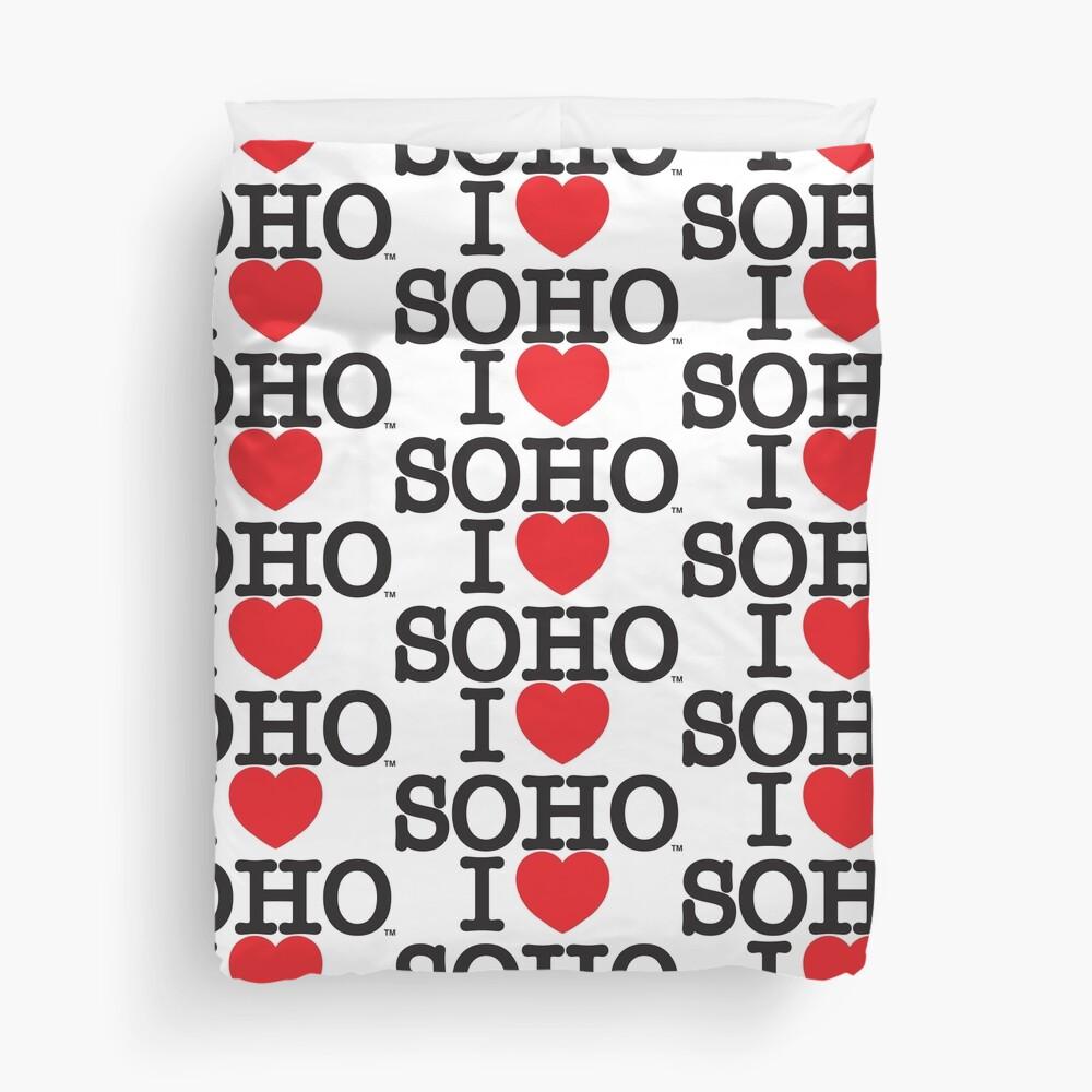 I Love Soho Official Merchandise @ilovesoholondon Duvet Cover