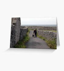 The Inisheer´s walker Greeting Card
