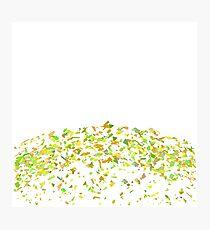 Confetti Background Photographic Print