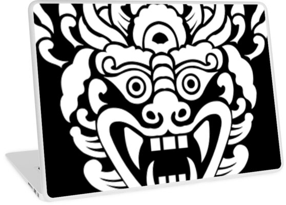 Vector Barong Laptop Skins By Yousef Tantawi Redbubble