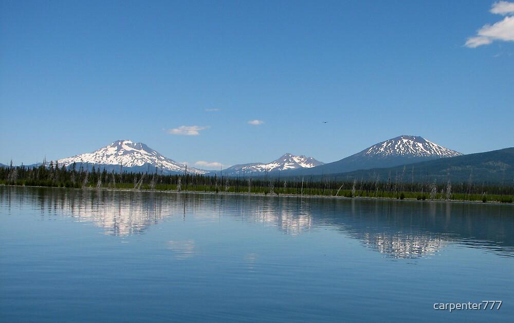 Oregon mountains by carpenter777