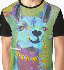 Lama für Hannah Grafik T-Shirt
