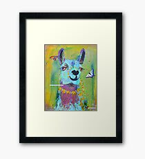 Llama for Hannah Framed Print