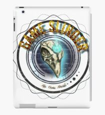 Game Slinger logo iPad Case/Skin