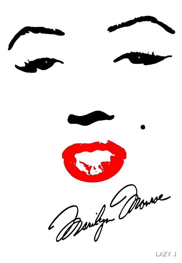 MARILYN MONROE! by John Medbury (LAZY J)