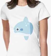Cute Baby Mola Mola Women's Fitted T-Shirt