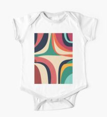 Modern Minimalist Blocking Colors Kids Clothes