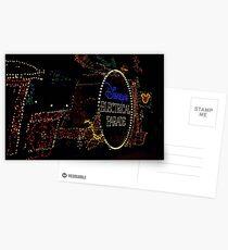 Main Street Electrical Parade Postcards
