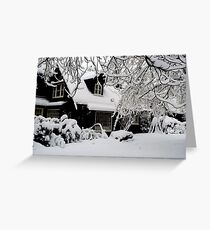 The Summer House (North Saanich, Vancouver Island, British Columbia, Canada) Greeting Card