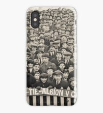 Brighton and Hove Albion V Cardiff 1900's iPhone Case/Skin