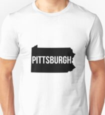 Pittsburgh, Pennsylvania Silhouette T-Shirt