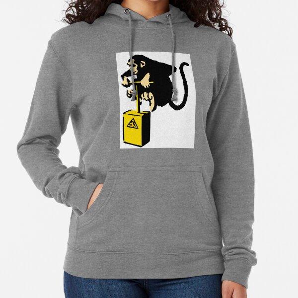 Banksy Monkey Detonator Sweat à capuche léger
