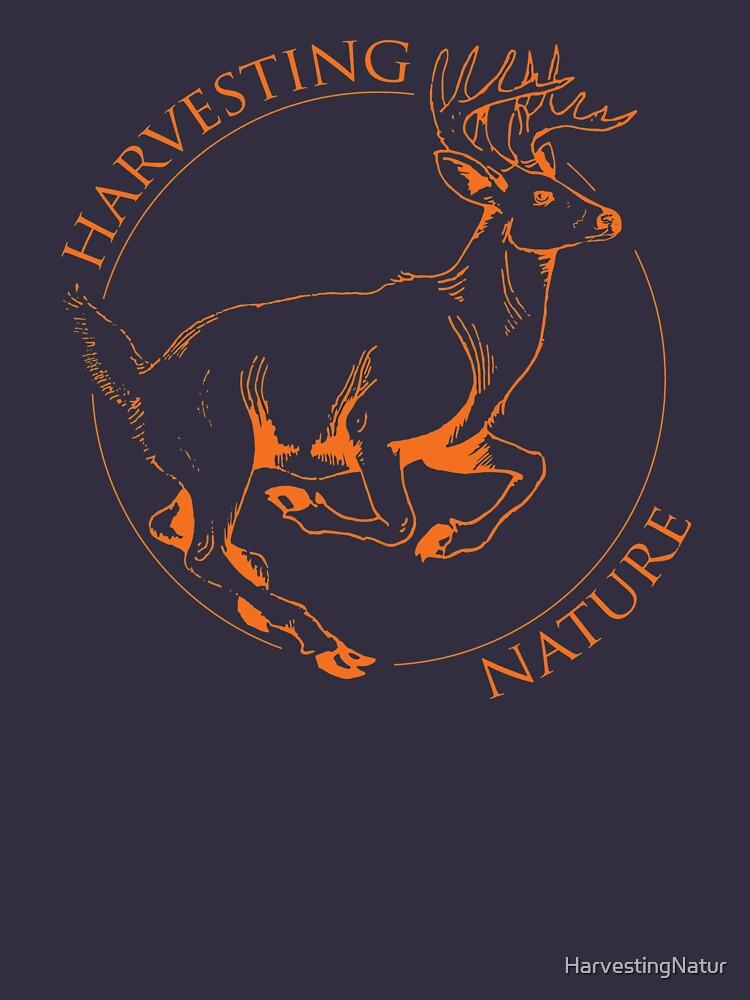 Running Deer Shirt by HarvestingNatur