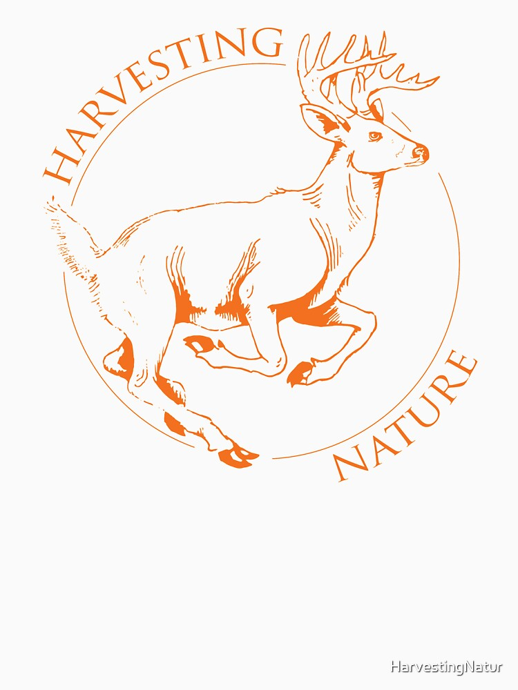 Running Deer Shirt by HarvestingNatur