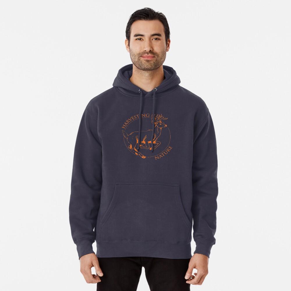 Running Deer Shirt Pullover Hoodie