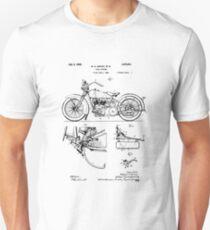 Harley Davidson Model JD Patent T-Shirt