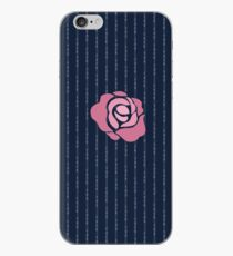 McGregor Mayweather LA Presser - Pink Rose Fuck You Pinstripe iPhone Case
