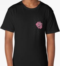 McGregor Mayweather LA Presser - Pink Rose Fuck You Pinstripe Long T-Shirt