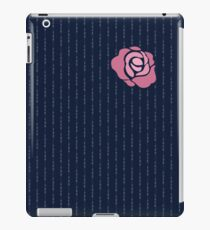 McGregor Mayweather LA Presser - Pink Rose Fuck You Pinstripe iPad Case/Skin