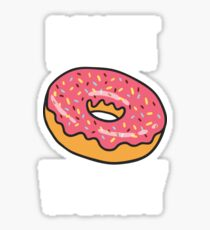Funny Donut Design - Donut Worry Sticker