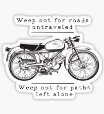 Weep Not For Roads Untraveled {Linkin Park} Sticker