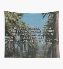 on the streets of LA Wall Tapestry