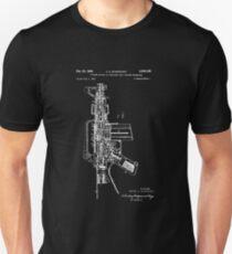 Patent Print, ar-15 Gun Poster, Ar-15 Gun Patent, Ar-15 Gun Pistol Print, AR-15 Gun Pistol Art, AR-15 Gun Decor, AR-15 Gun, Blueprint Unisex T-Shirt