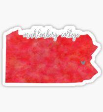 Muhlenberg College Sticker