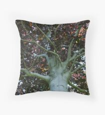 Auburn Branches Throw Pillow