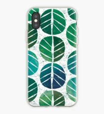 i love Green Leaf iPhone Case