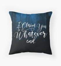 Throne of Glass, To Whatever End, Rowaelin, Heir of Fire Throw Pillow