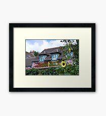 Monet's Home Framed Print