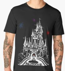 Mouse in Love at Midnight Men's Premium T-Shirt