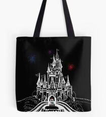 Mouse in Love at Midnight Tote Bag
