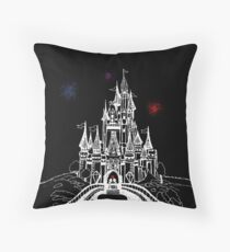 Mouse in Love at Midnight Throw Pillow